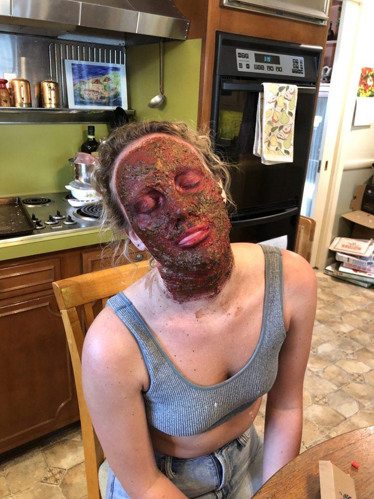 The Burned Woman SFX Makeup