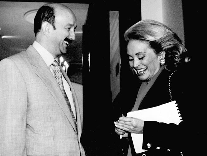 Con Carlos Salinas (1988-1994)