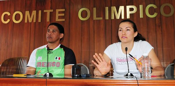 La doble medallista no viajó a Canadá por solidaridad con su entrenador Pedro Gato. (Mexsport)