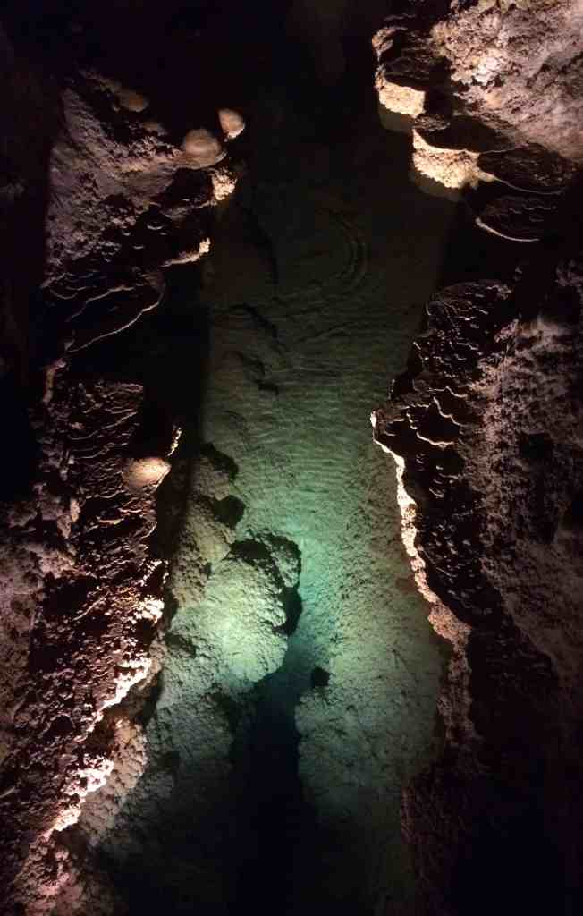 Water pool in Carlsbad Caverns New Mexic