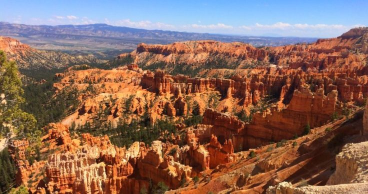 Viewpoint in Bryce Canyon