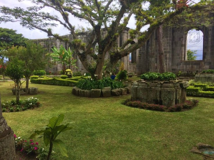 Ancient cathedral of Cartago never finished