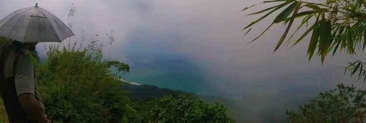 fog in Refugio Solté
