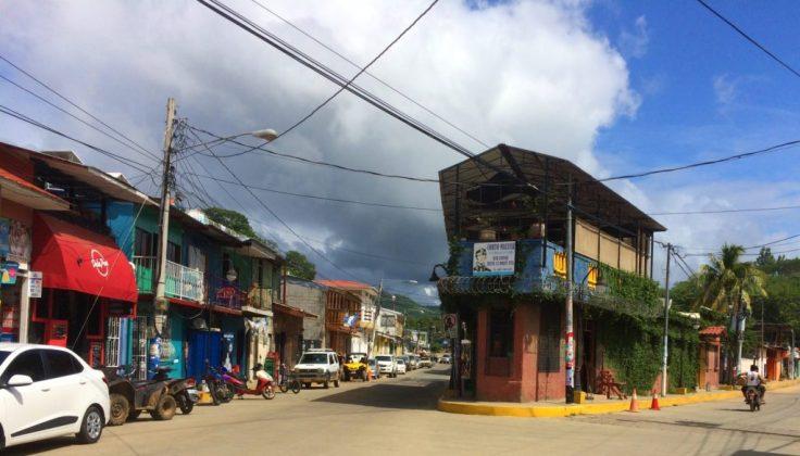 downtown San Juan Del Sur