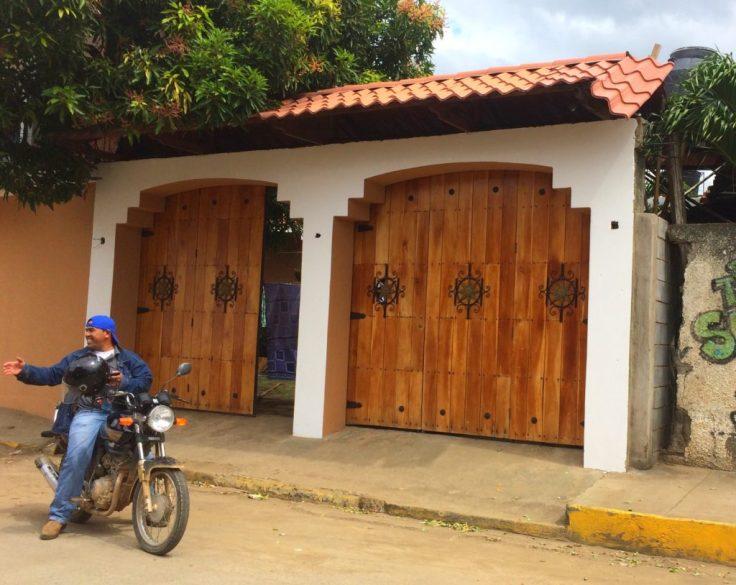 beautiful gates in San Juan Del Sur