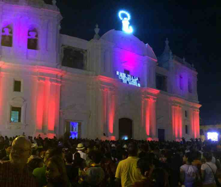 Cathedral in Leon Nicaragua