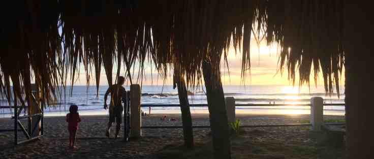 Beach near Leon Nicaragua