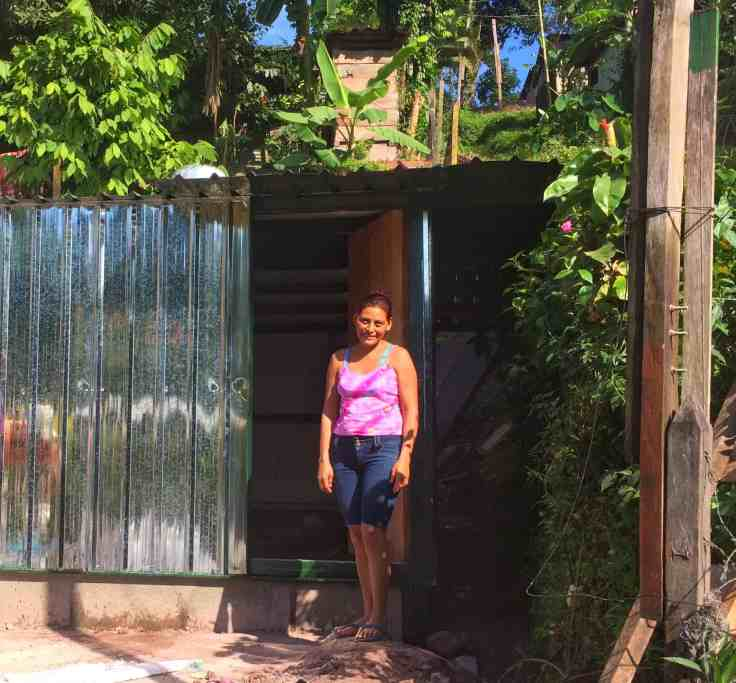 a new home to replace homes of plastic