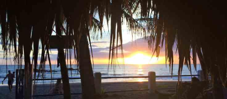 Las Penitas beach near Leon Nicaragua