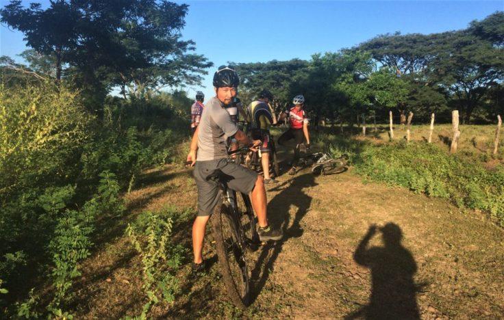 biking in Leon Nicaragua