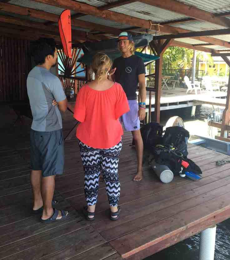 dive class in Bocas Del Toro