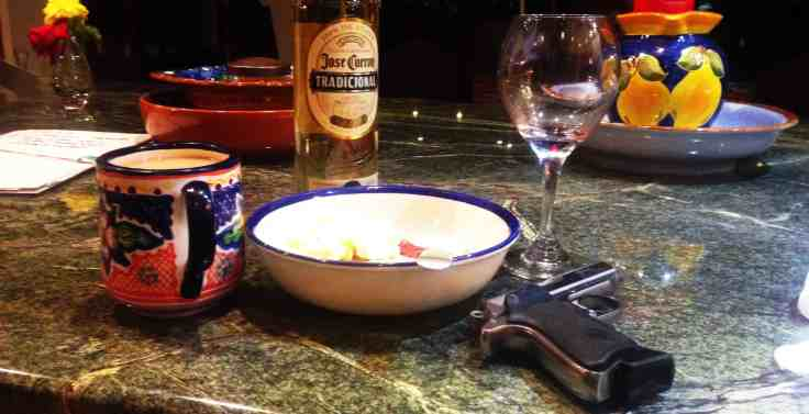 Rum and a Walther PPK
