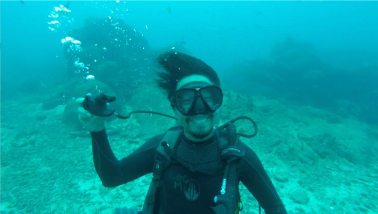Diving in Coiba