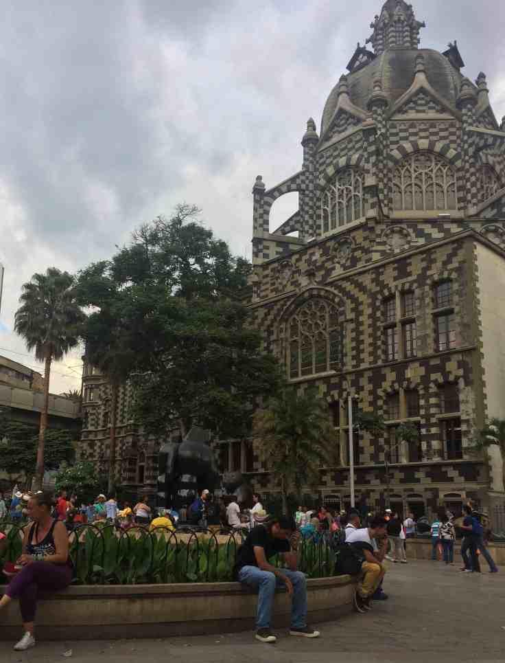 Square in Medellin
