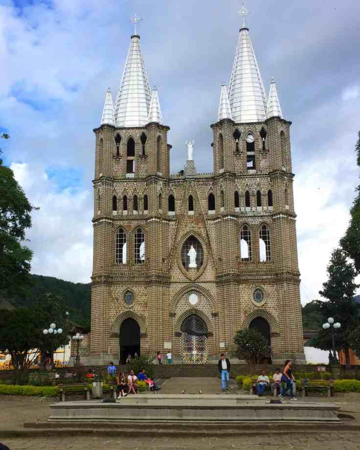 Cathedral in Jardín Colombia