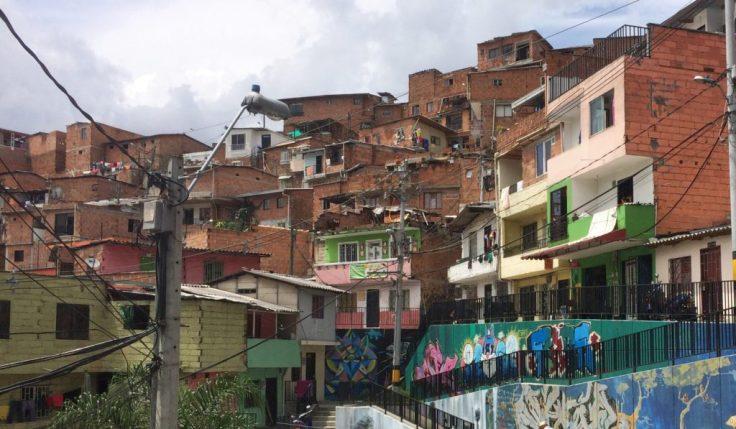 Comuna 13 in Medellin Colombia