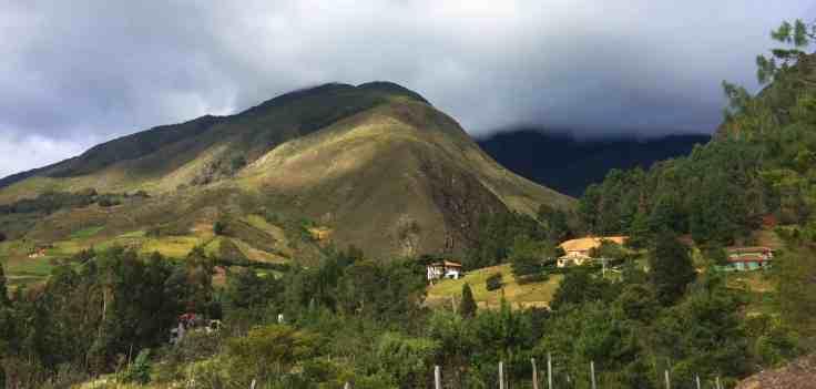 Mountains near Villa de Leyva