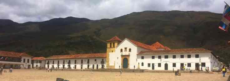 Plaza of Villa de Leyva