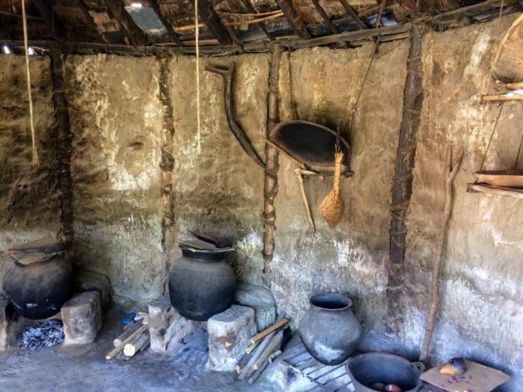 Indiginous home in Otavalo