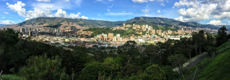 The city of Medellin, Colombia