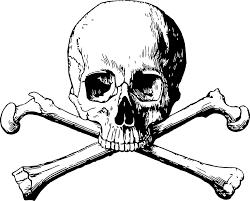 Scull and cross bones