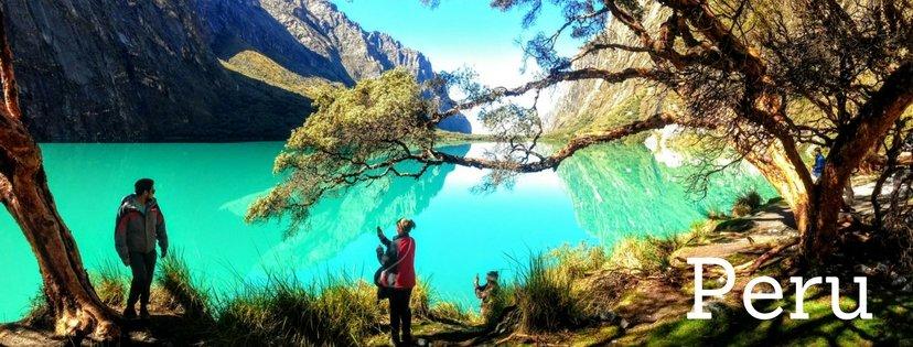 Laguna in Peru
