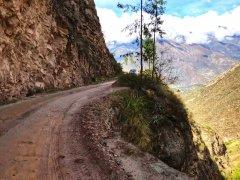 The Road to Caraz after the Santa Cruz Trek