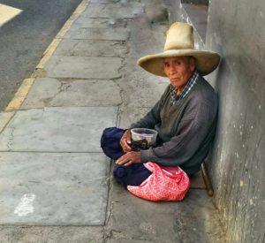man on the street, life on the street