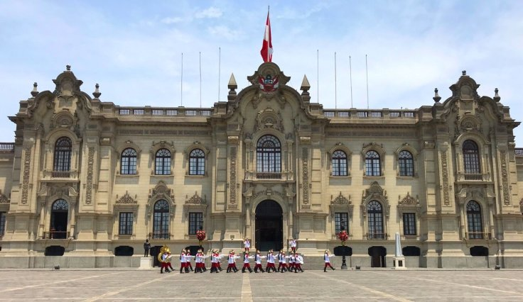 Government Palace, Plaza de Armas Lima, Peru