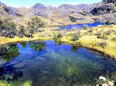 lake in Cajas National Park things to do in Ecuador