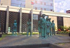Statue in San José Costa Rica