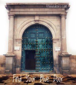Find your blue door
