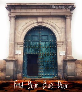 Find your blue door