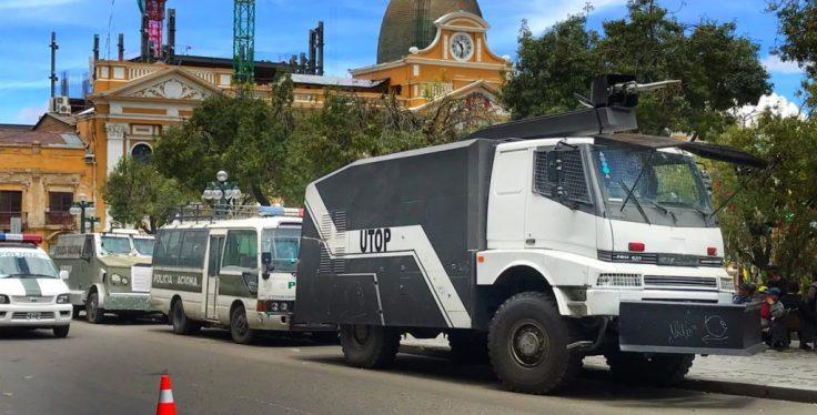 Riot vehicles