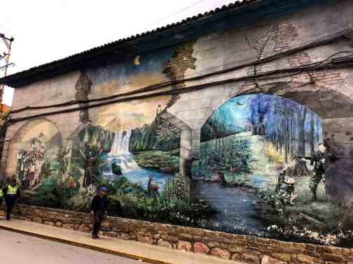 Street art in Bolivia, reinventing your life