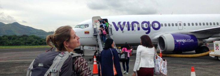 Wingo airline in Panama for travel apps