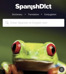 SpanishDict travel apps