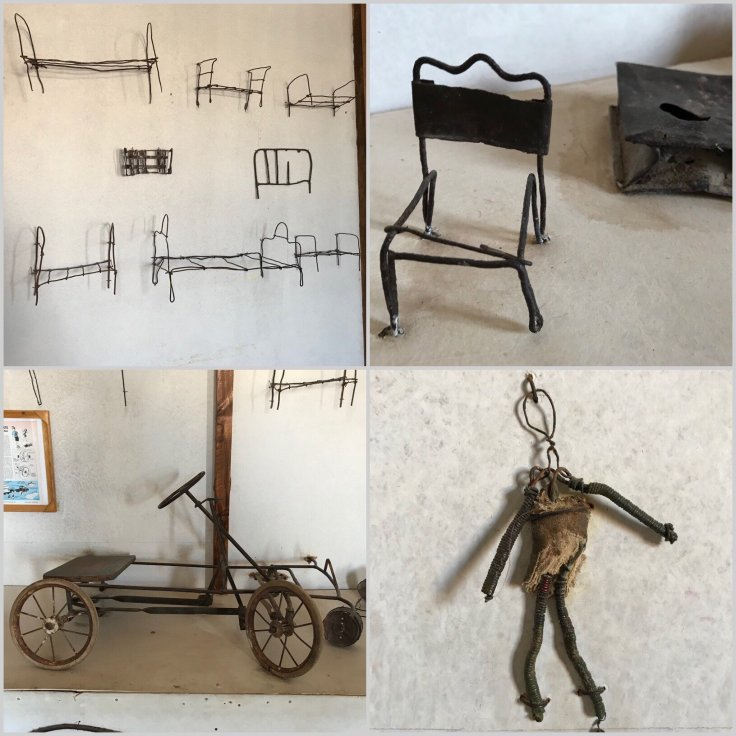 Museum of toys in Humberstone examples of resilience