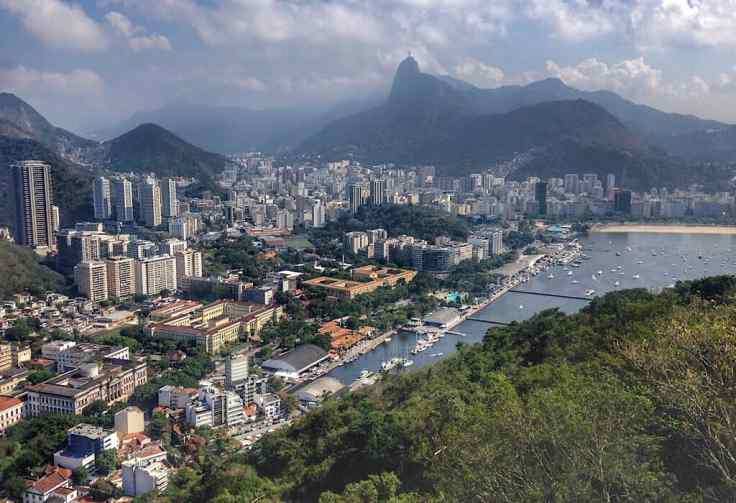 Rio de Janiero from Sugar Loaf, places to visit in Brazil