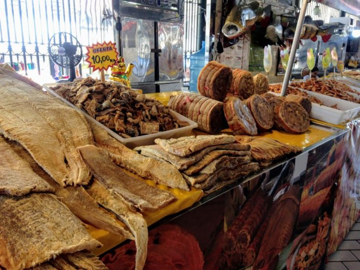 Inside the fish market in Manaus, safety travel tips