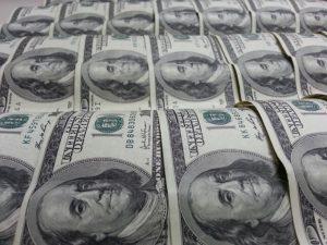 Benjamin Franklin on 100 dollar bills