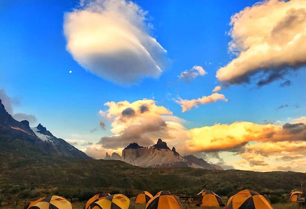 Torres del Paine campground