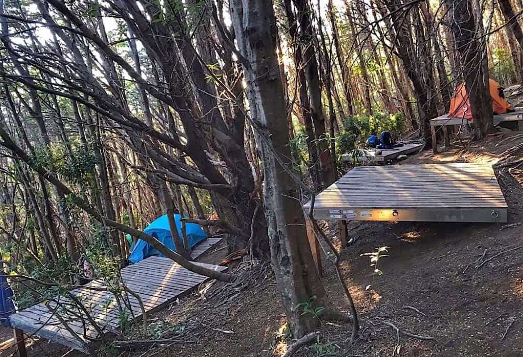 Frances Camp in Torres del Paine W Trek