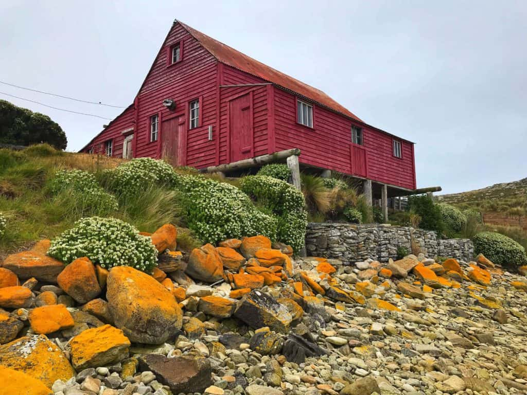 Barn on West Point on the Falkland Islands
