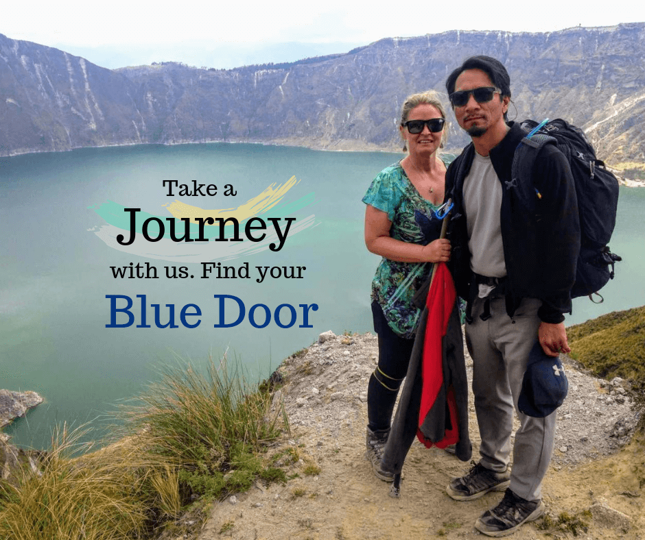 Take a journey with us find your blue door