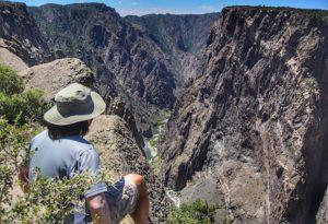 Black Canyon of the Gunnison in Colorado USA