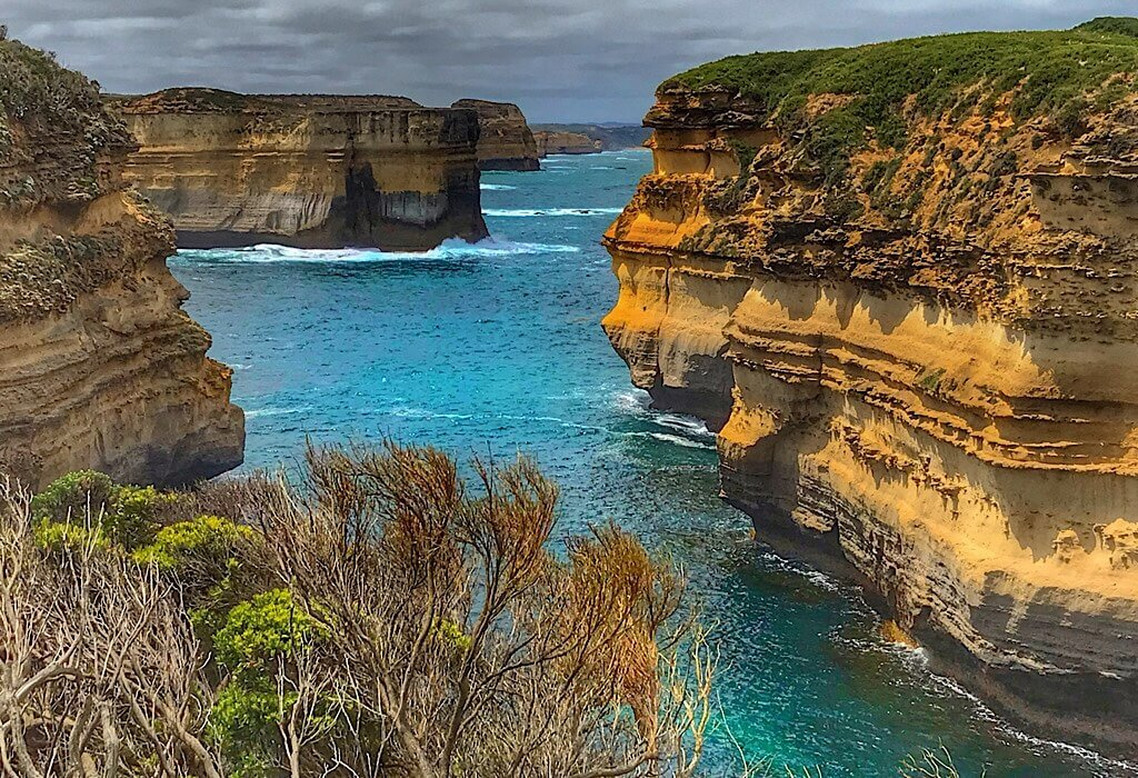 Muttonbird Island off the coast of the Great Ocean Road, Victoria, Australia