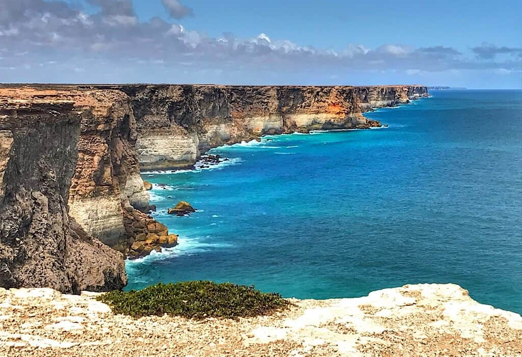 The Great Australian Bight, the edge of the Nullarbor