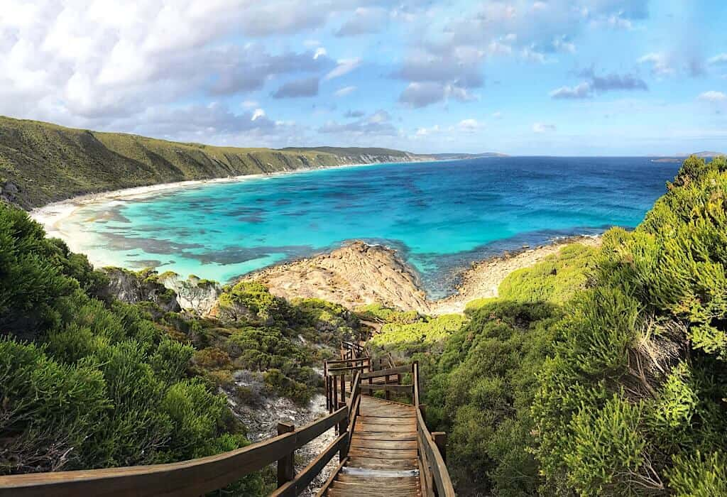 Observation Point on The Great Ocean Road near Esperance