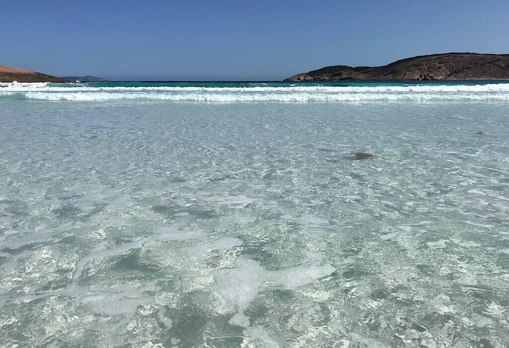 Crystal clear beaches of La Grand NP near Esperance, Western Australia